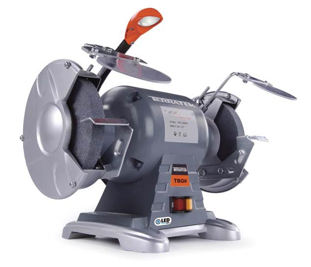 Admirable 6 Inch Heavy Duty Bench Grinder Alphanode Cool Chair Designs And Ideas Alphanodeonline