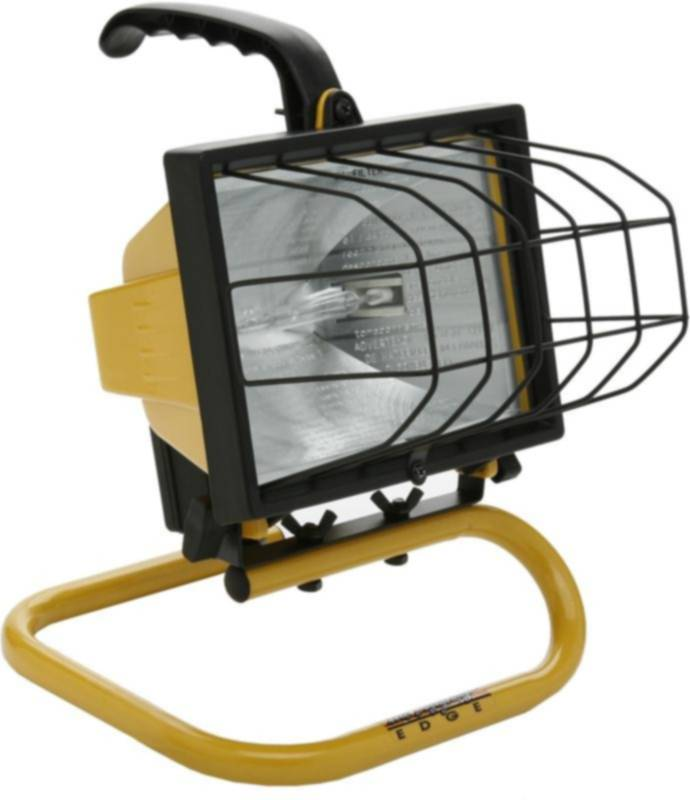 Designers Edge 500 Watt Portable Work Light: Designers Edge L-20 500-Watt Halogen Portable Work Light