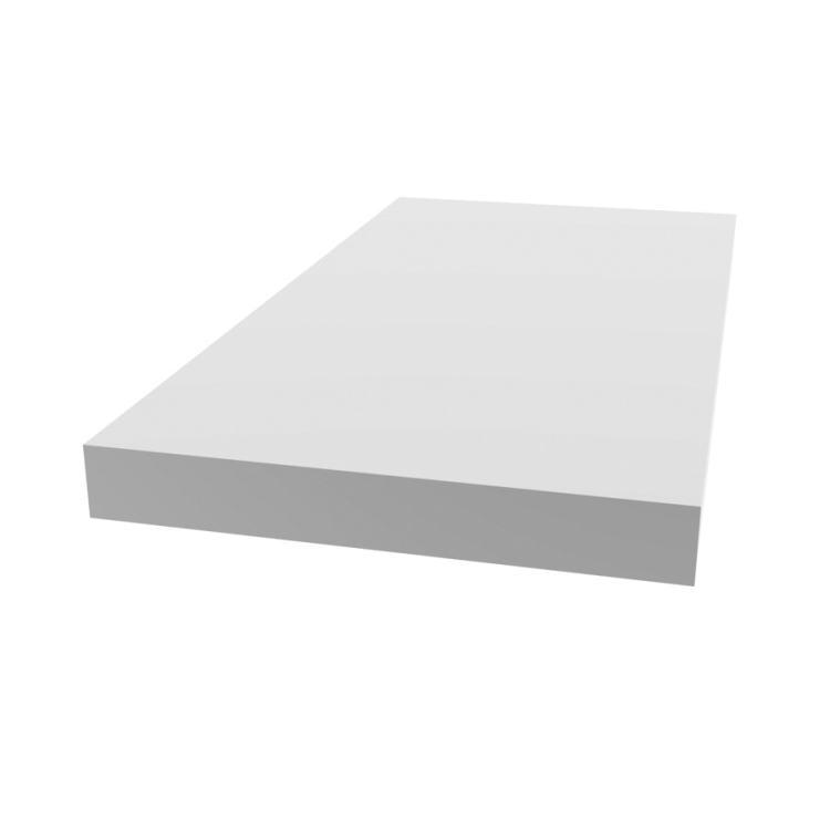 Metrie 2018 08 White Lattice Molding 1 4 X 11 2 8 Ft Rot