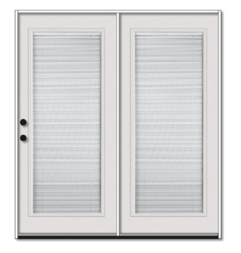 Jeld Wen Builders Series Vinyl Sliding Patio Door With