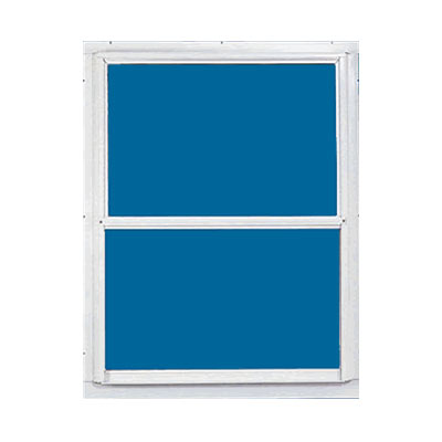 Croft 81 28x55 28x55 white aluminum storm window at for Aluminum storm windows