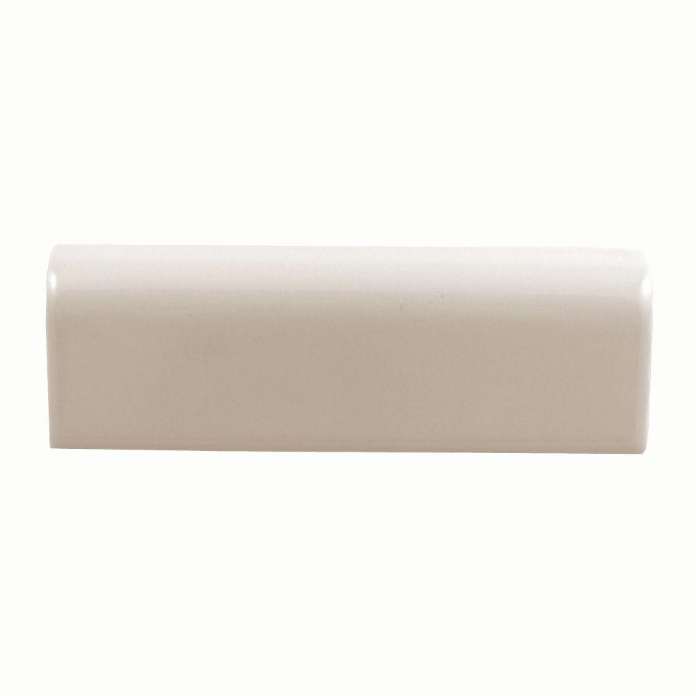 Daltile 0135wa8262 2 Inch X 6 Inch Almond Ceramic V Cap