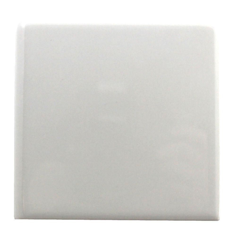 4 1 X Inch White Bullnose Wall Tile