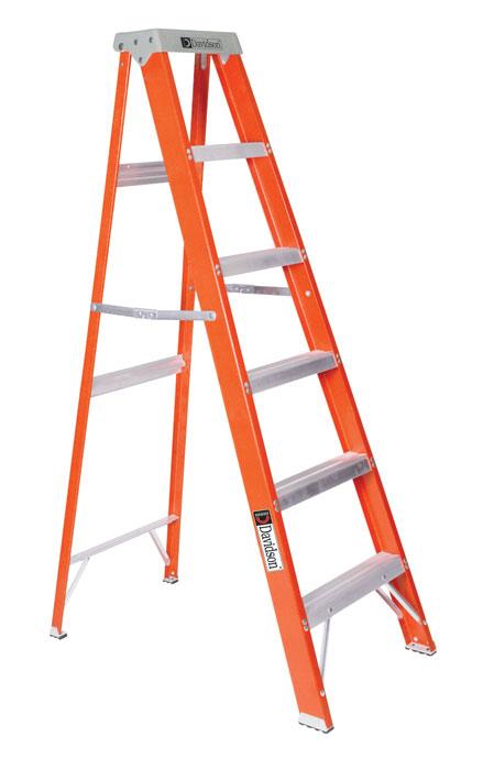 Louisville ladder fs1510 fiberglass step ladder type ia 10 ft at