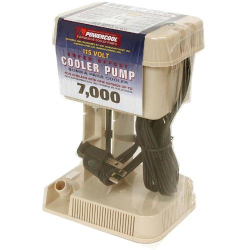 Dial Mfg 1075 Cooler Pump 7000cfm Offset 3prg Plug At