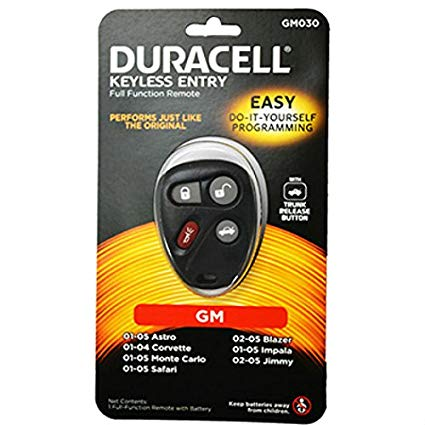 Duracell Remotes GM030D