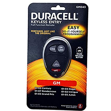 Duracell Remotes GM043D