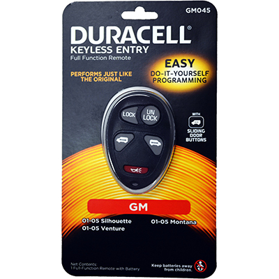 Duracell Remotes GM045D