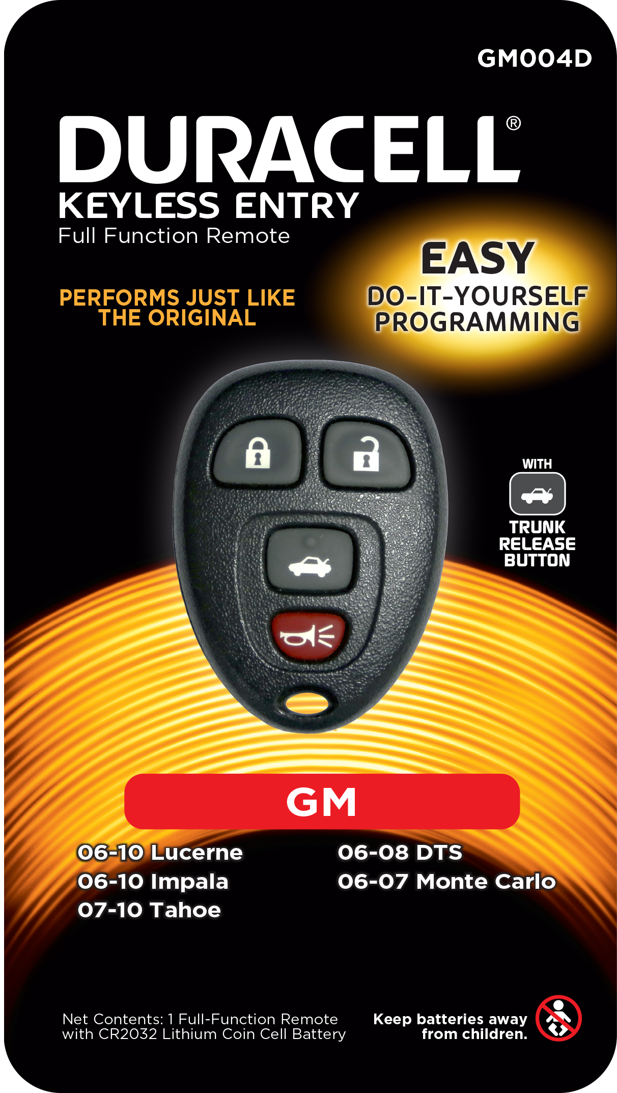 Duracell Remotes GM004D