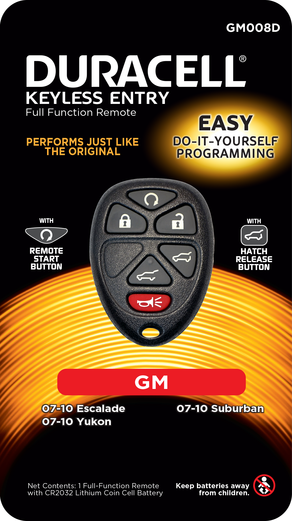 Duracell Remotes GM008D