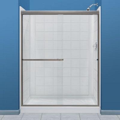E L MUSTEE & SONS, INC 760T-30WHT Durawall Fiberglass Shower Tile ...