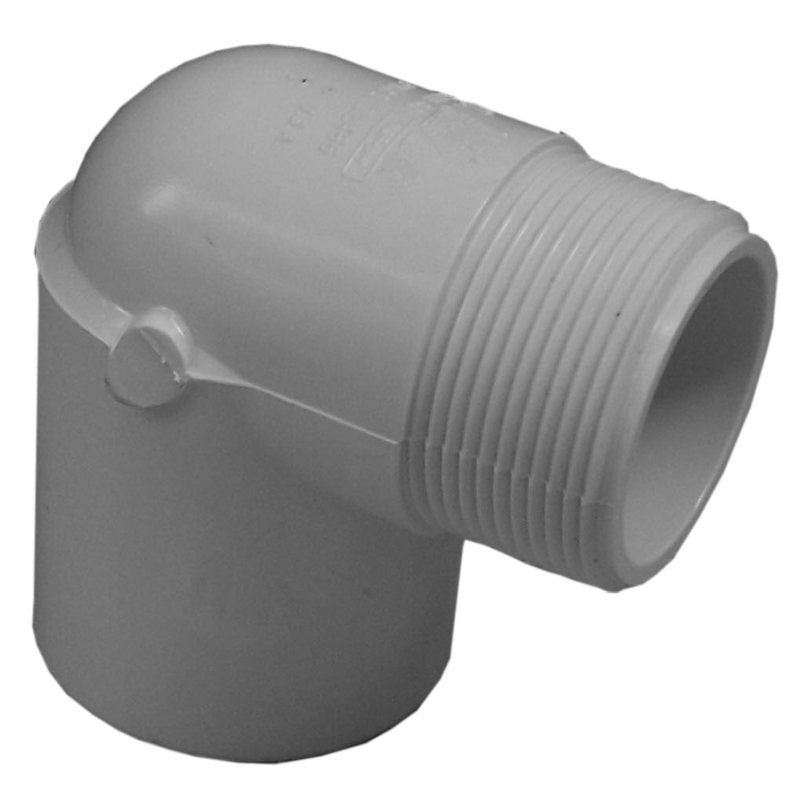 Genova pvc street elbow ° schedule at