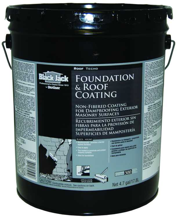 Gardner Gibson 6025 9 30 Black Jack Roof Foundation