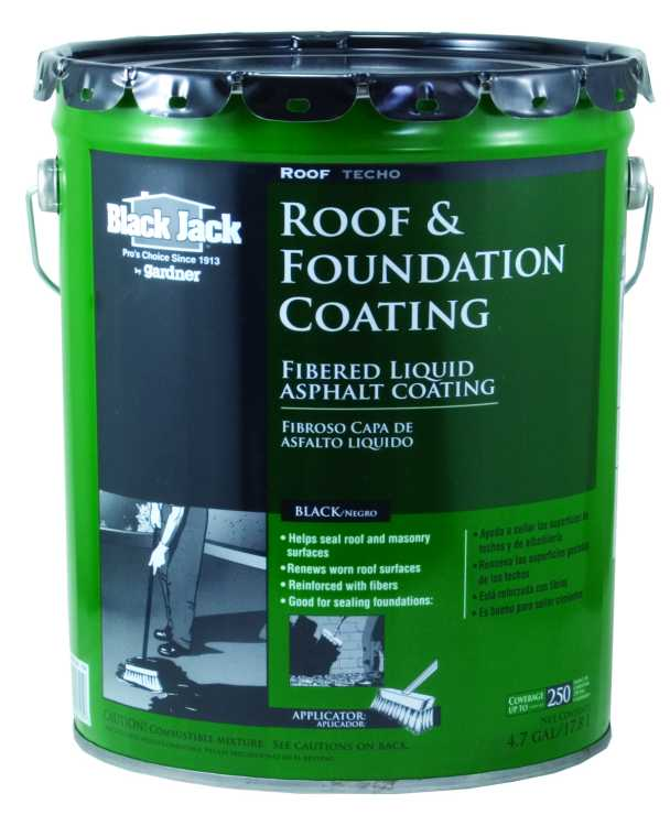 Gardner Gibson 6125 9 30 Black Jack Roof Coating Fibered