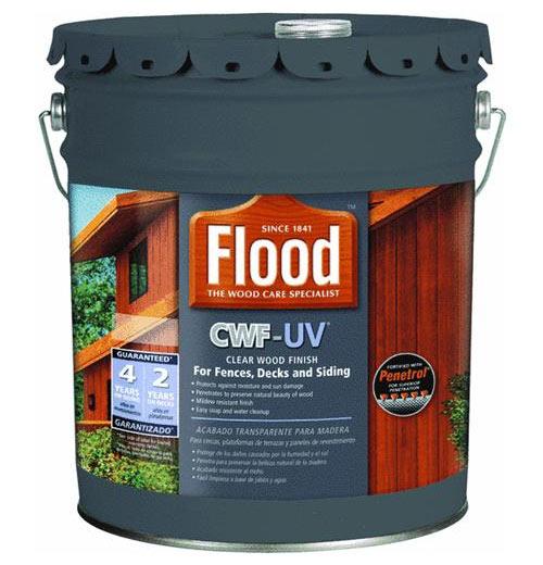 Flood Fld420 Cwf Uv Exterior Wood Finish Cedar 5 Gal At Sutherlands