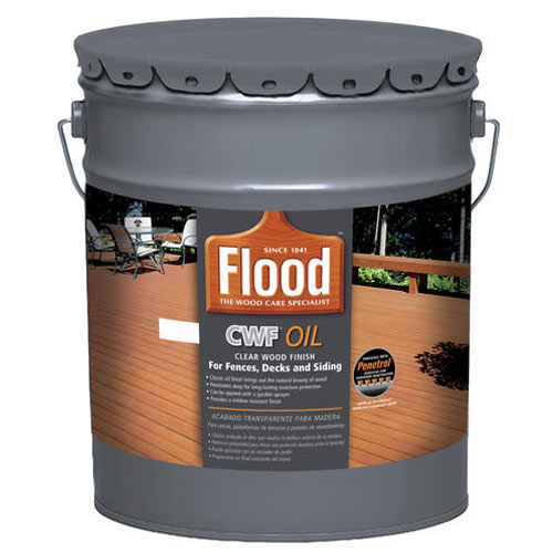 Flood Ppg Fld442 Cwf Clear Natural Exterior Wood Stain Voc