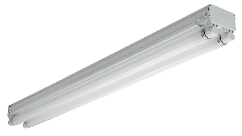 Lithonia Lighting UNS248HO120CW20 Fluorescent High Output Strip 4 ft ...