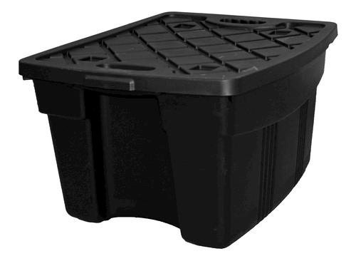 Incredible Solutions Inc 21600 06 21 Gallon Black Tuff Box Storage