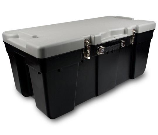 J terence thompson 2820 20p 25 gal black storage trunk at sutherlands - Footlockers storage ...