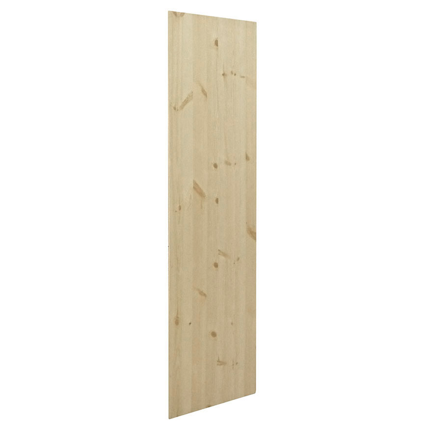 Knotty Pine Cupboards: Kapal Wood Products US84-PFP 1/4 In X 84 In Unfinished