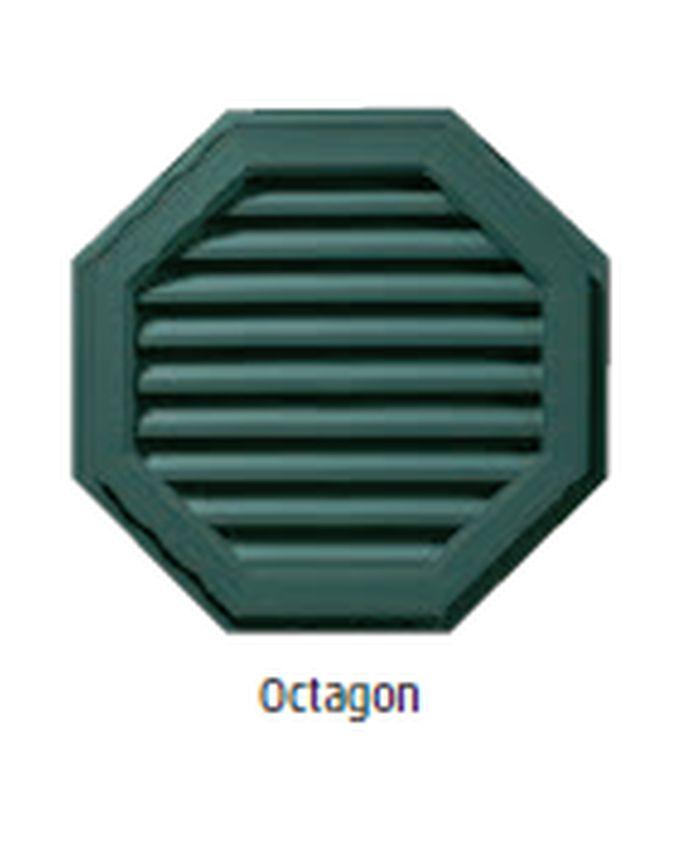 22 Octagon Gable Vent