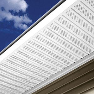 Kaycan 0623 01 12 In X 12 Ft White Vinyl Solid Soffit At