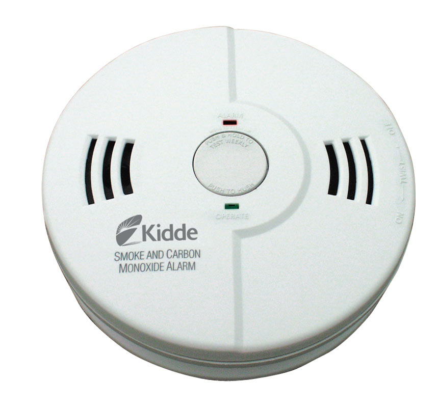 how to change fire alarm battery kidde