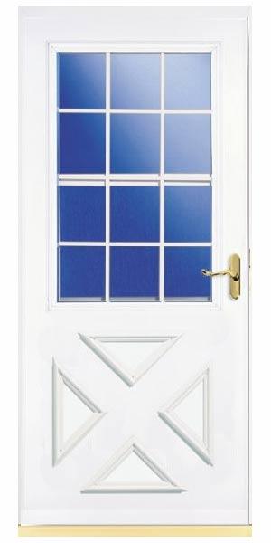 Larson doors 023632u sx 36 in lifestyle crossbuck storm for 9 lite crossbuck exterior door