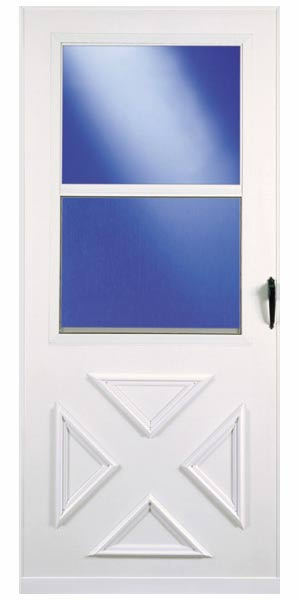 Larson doors 029632u sx 36 in vinyl clad storm door at for Vinyl storm doors