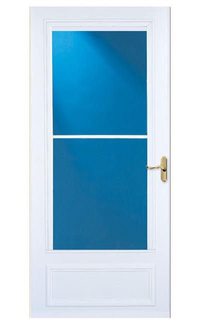 Larson Doors 83080082 36 Inch Almond Lifestyle Screen Away Storm Door At Sutherlands