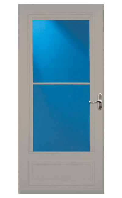 Larson doors 83082091 32 in screen away storm door for Screen door options