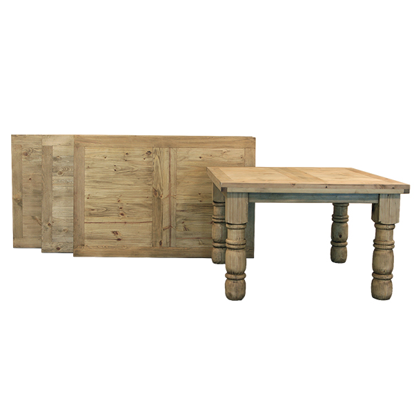 Wichita Furniture Lawton Ok: LMT Imports TSW073 6-Foot Wood Top Dining Table At Sutherlands