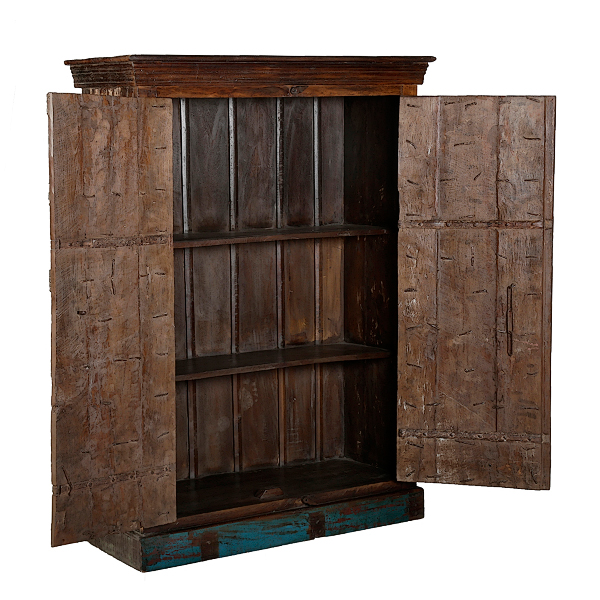 Wichita Furniture Lawton Ok: LMT Imports VNDIA-041 Painted Jailhouse Armoire At Sutherlands