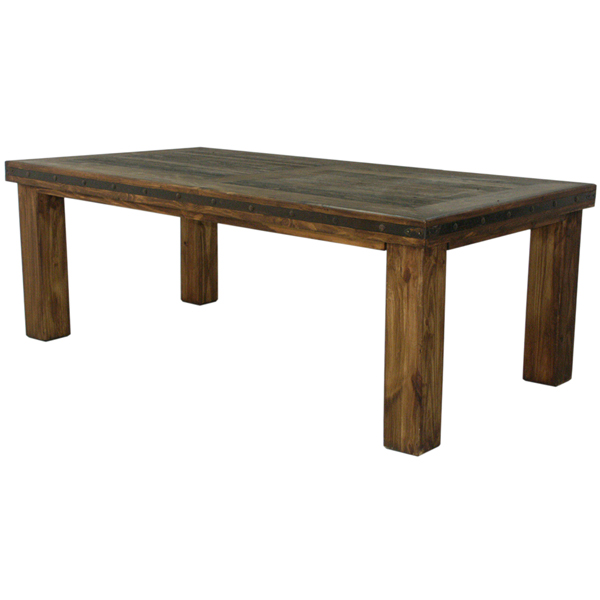 Lmt Imports Mes400 Medio 6 Foot Laguna Dining Table With