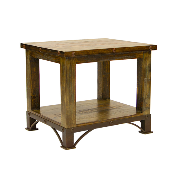 Lmt Imports Lat800 End Urban Rustic End Table At Sutherlands