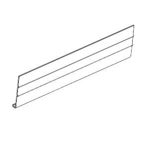Cellwood Alf1c8004 Aluminum Fascia Woodgrain 8 In White At