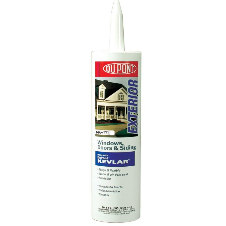 M D Building Products 7800 Door Window And Siding Sealant With Kevlar 10 1 Fl Oz White At
