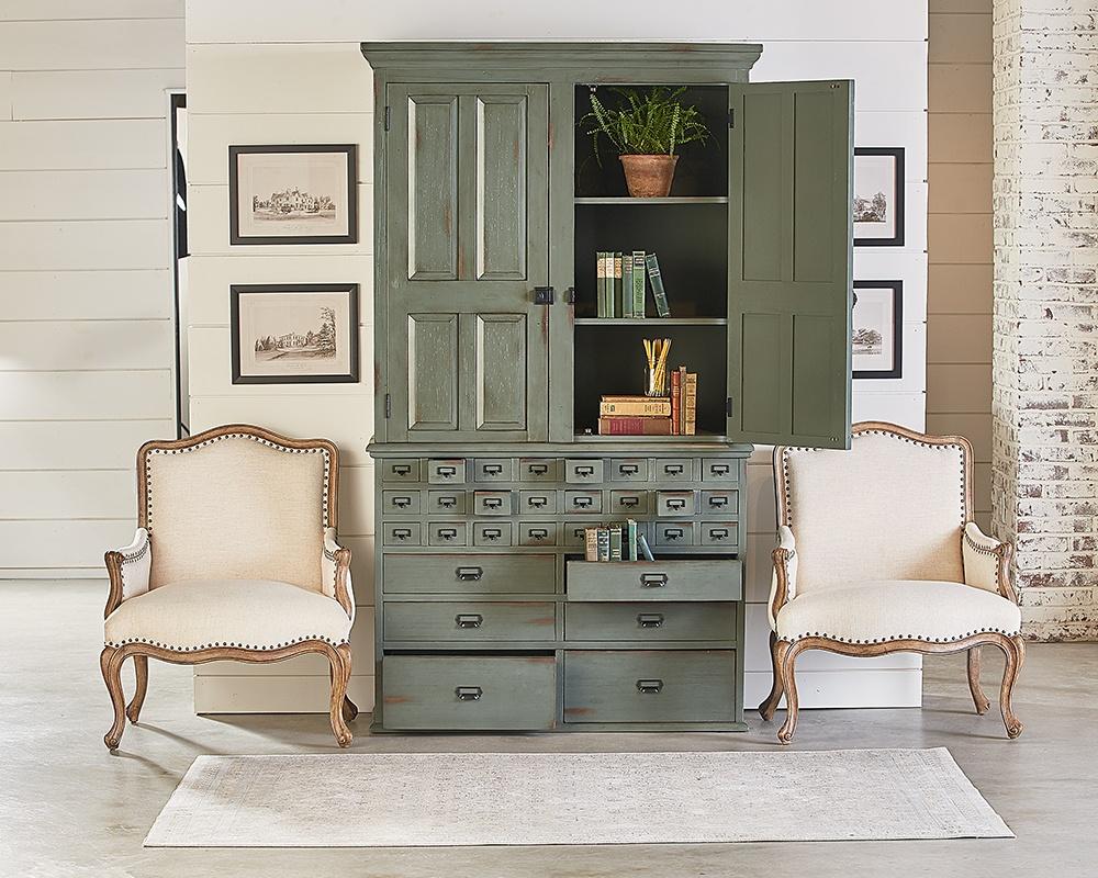 Magnolia Home 2010723Z Patina File Cabinet Armoire Hutch ...