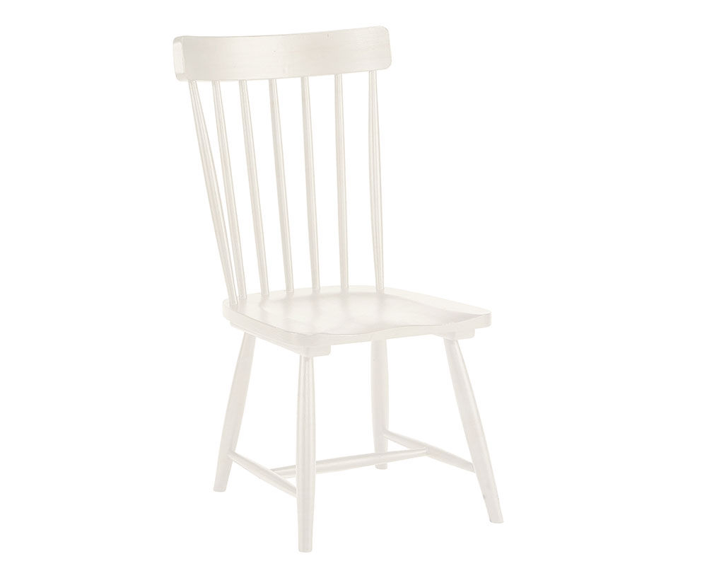 Incredible Magnolia Home 6010104B Jos White Spindle Back Chair At Alphanode Cool Chair Designs And Ideas Alphanodeonline