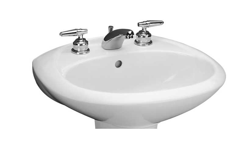 Mansfield Sinks Pedestal : home departments plumbing plumbing fixtures lavatory sinks