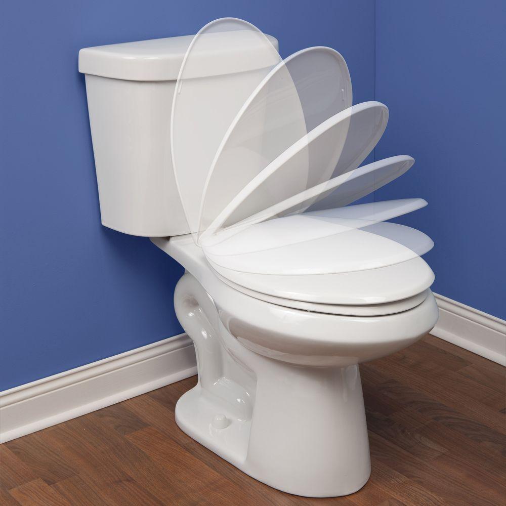 Bemis Mayfair 180slow 000 Elongated Solid Plastic Toilet