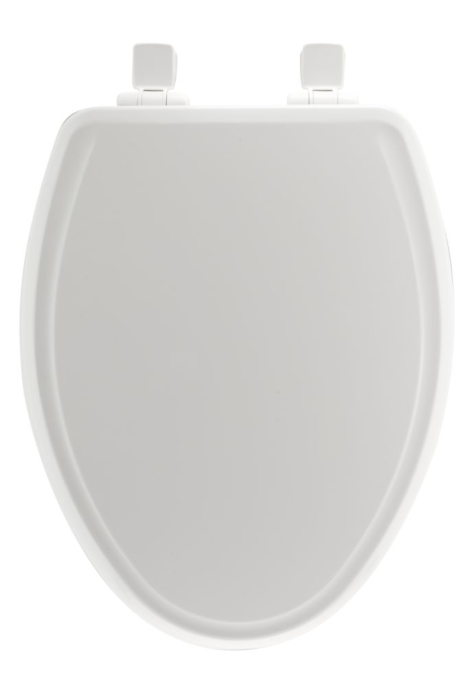 Mayfair Bemis 148SLOW 000 Elongated Molded Wood Toilet Seat White At Sutherlands
