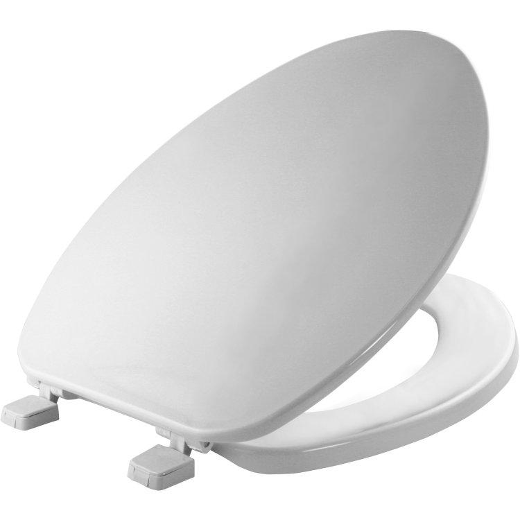 Mayfair Bemis 170 000 Elongated Plastic Toilet Seat White At Sutherlands