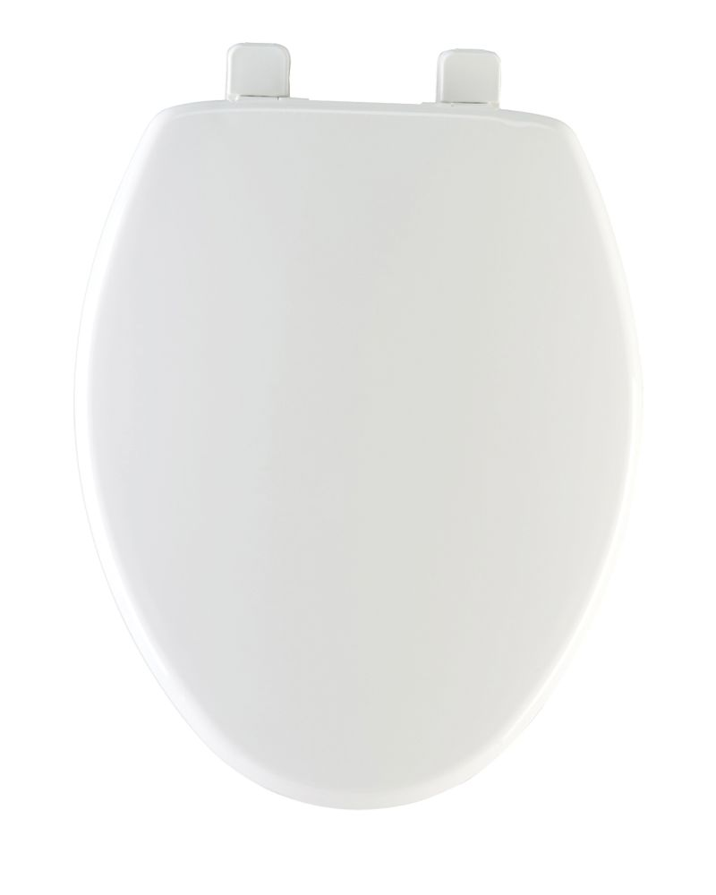 Excellent Elongated Solid Plastic Toilet Seat White Andrewgaddart Wooden Chair Designs For Living Room Andrewgaddartcom