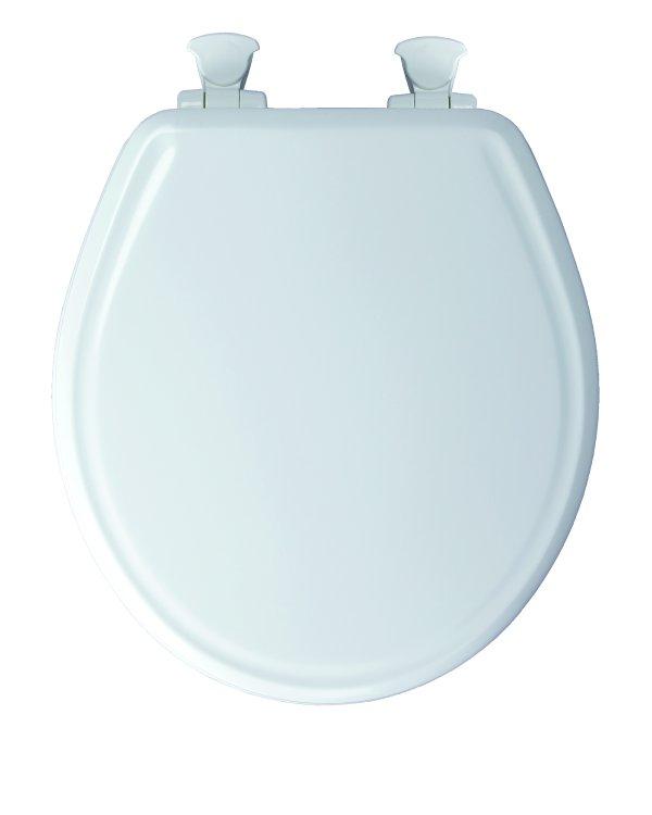 Bemis Mayfair 48e2 000 Round Molded Wood Toilet Seat