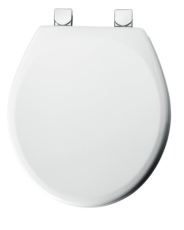 Bemis 49cpec 000 Round Molded Wood Toilet Seat White At