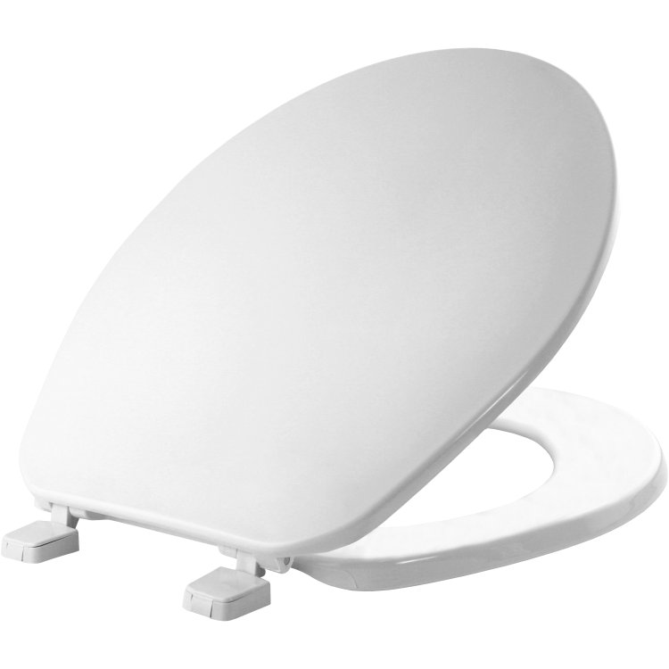 Mayfair Bemis 70 000 Round Plastic Toilet Seat White At Sutherlands