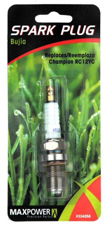 Spark Plug For Mower Champion RC12YC