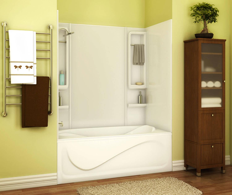 Maax Inc 101347 000 001 000 34 Inch X 59 Inch White Finesse Tub Wall