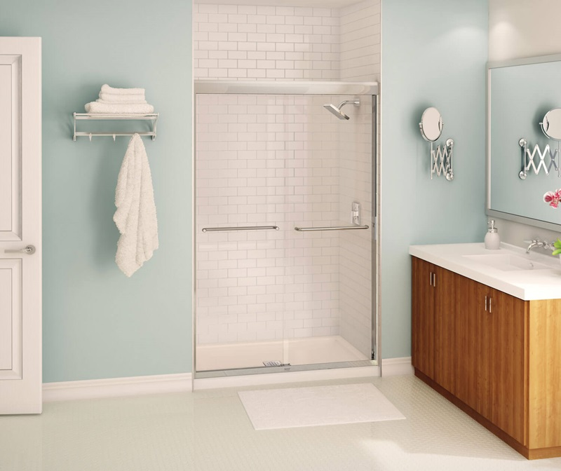 Maax Bath Inc 135663 900 084 000 43 To 47 X 71 Inch